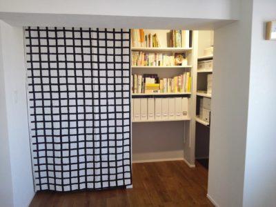 押入れカーテンの作り方をブログで紹介しています!