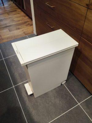 ケユカのゴミ箱臭いもれは?キッチンシンク下で2か月使った感想ブログ