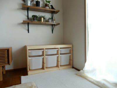 IKEAトロファストの組み立て!時間と組み立て方は?