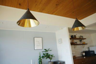 フタガミの照明真鍮のペンダントライトをブログでレビュー!楽天最安値も!