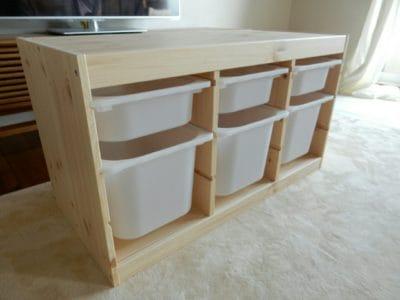 IKEAトロファストの組み立て!時間と組み立て方は?口コミ