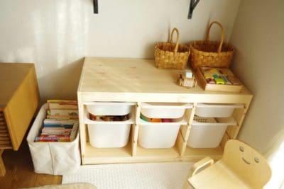 IKEAトロファストのおもちゃ収納