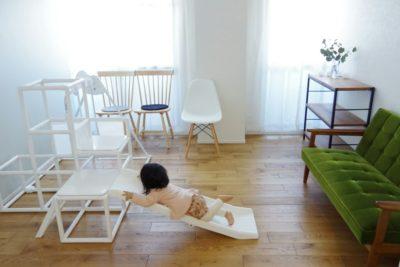ジョイントマットを敷く前の子供部屋、ビフォーアフター公開!
