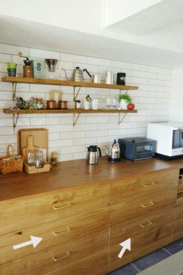 キッチン引き出し収納は100均ダイソーのクリアケースで整頓!食品収納編