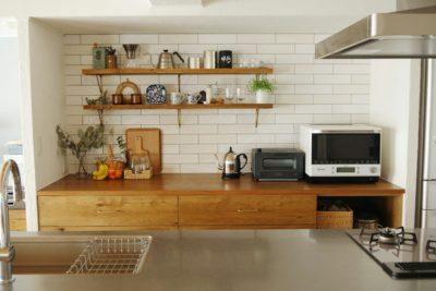 キッチンタイル 施工例