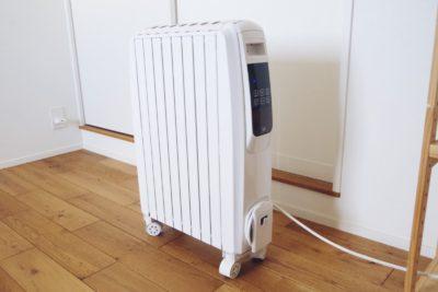 モダンデコのオイルヒーター(PULITO)を購入!実際に使ってみた口コミと感想をブログで紹介!