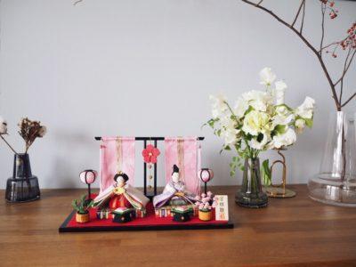 【コンパクトでかわいいお雛様】マンションでも飾りやすいサイズ感、ブログで紹介