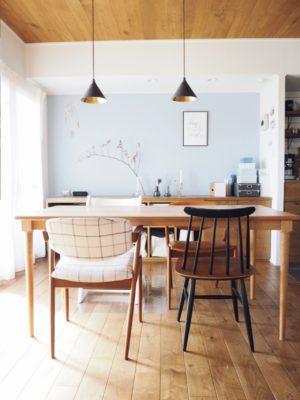 ファネットチェアを購入!憧れの北欧ヴィンテージの椅子をブログで紹介