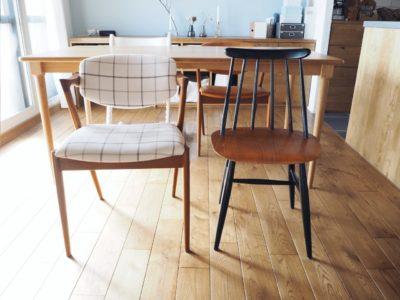 ファネットチェアとNo42の椅子をブログで紹介